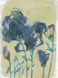 Floral Vignette III Digital Print by Goldberger, Jennifer,Decorative