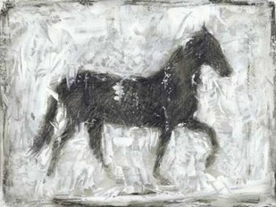 Equine Silhouette I Digital Print by Harper, Ethan,Impressionism