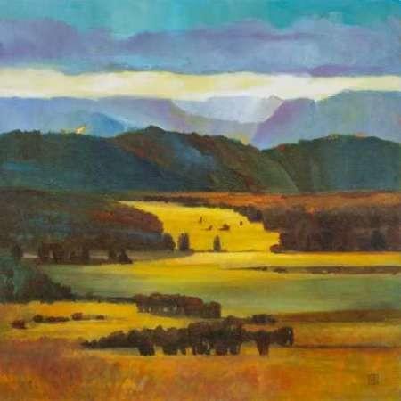 Mountain Light Digital Print by D'Agostino, Judith,Impressionism