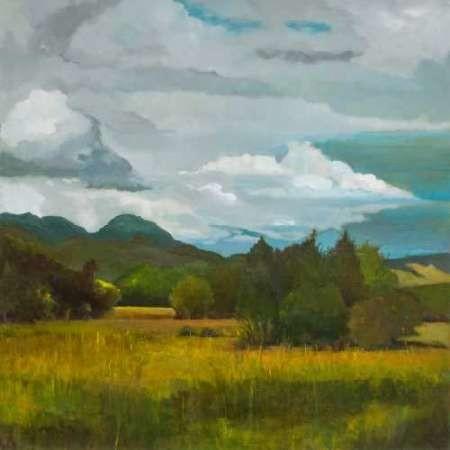 Behind Luan Lodge Digital Print by D'Agostino, Judith,Impressionism