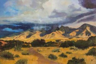 Desert Mountain Light Digital Print by D'Agostino, Judith,Impressionism