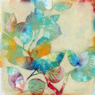 Merging Leaves I Digital Print by Goldberger, Jennifer,Decorative