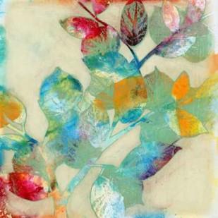 Merging Leaves II Digital Print by Goldberger, Jennifer,Decorative