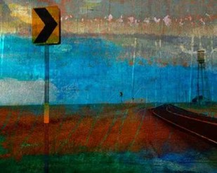 Texas Open Road Digital Print by Jasper, Sisa,Abstract