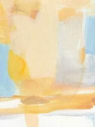 Golden Kiss Digital Print by Long, Christina,Abstract