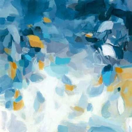 Blue Dreams Digital Print by Long, Christina,Abstract