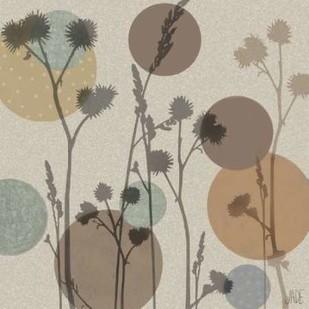 Polka-Dot Wildflowers I Digital Print by Reynolds, Jade,Decorative