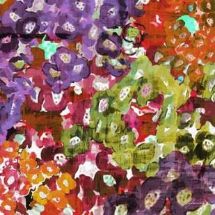 Floral Barrage I Digital Print by Burghardt, James,Impressionism