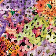 Floral Barrage III Digital Print by Burghardt, James,Impressionism