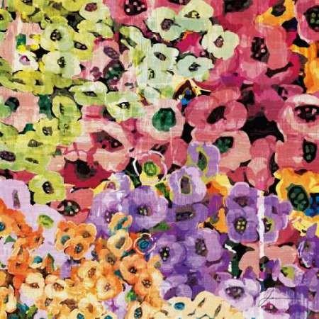 Floral Barrage IV Digital Print by Burghardt, James,Impressionism