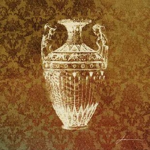 Patterned Bottles II Digital Print by Burghardt, James,Decorative
