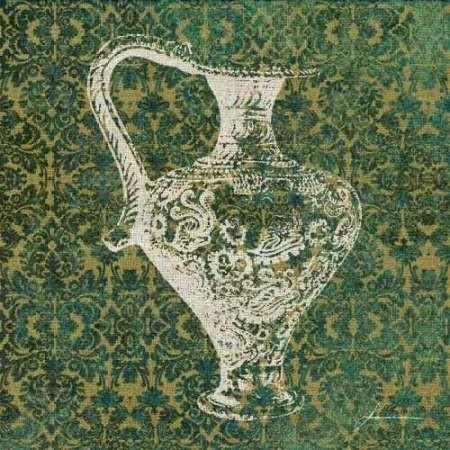 Patterned Bottles III Digital Print by Burghardt, James,Decorative