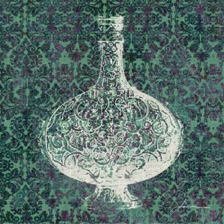 Patterned Bottles IV Digital Print by Burghardt, James,Decorative