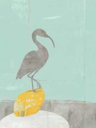 Heron Collage II Digital Print by Goldberger, Jennifer,Impressionism