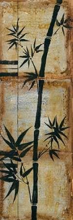 Patinaed Bamboo II Digital Print by Goldberger, Jennifer,Decorative