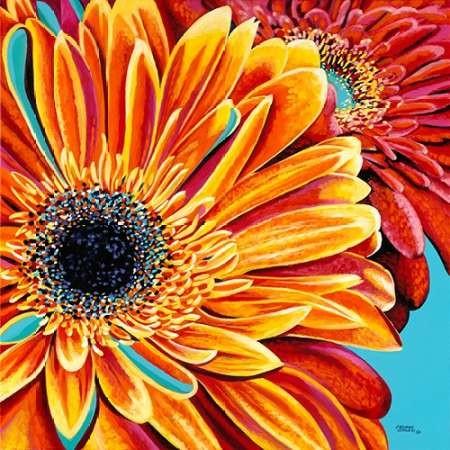 Color Bursts II Digital Print by Vitaletti, Carolee,Impressionism