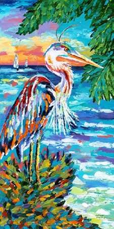 Beach Comber I Digital Print by Vitaletti, Carolee,Impressionism
