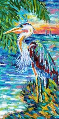Beach Comber II Digital Print by Vitaletti, Carolee,Impressionism