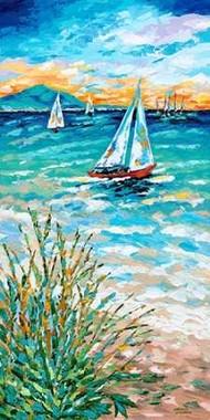 Wind In My Sail I Digital Print by Vitaletti, Carolee,Impressionism