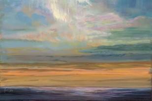 Distant Orange Light Digital Print by Joy, Julie,Impressionism