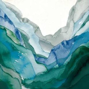 Emerald Quartz A Digital Print by GIArtLab,Impressionism