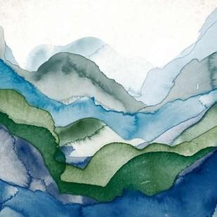 Emerald Quartz B Digital Print by GIArtLab,Impressionism