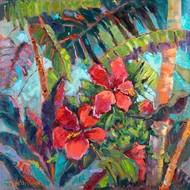 Splash Of The Tropics II Digital Print by Oleson, Nanette,Impressionism