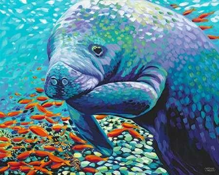 Sea Sweetheart II Digital Print by Vitaletti, Carolee,Decorative