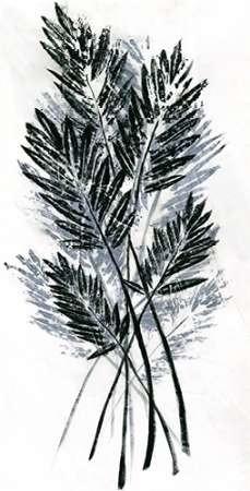 Palm Leaf Fresco I Digital Print by Vision Studio,Impressionism