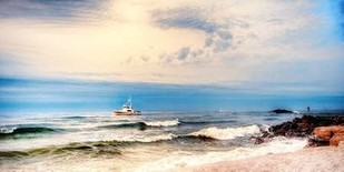 Heading to Sea Digital Print by Head, Danny,Impressionism