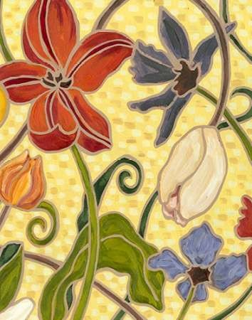 Sunny Garden I Digital Print by Deans, Karen,Decorative