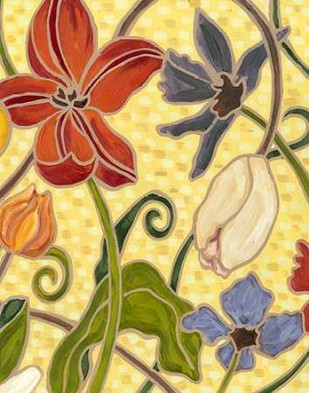 Sunny Garden I Digital Print by Deans, Karen,Decorative