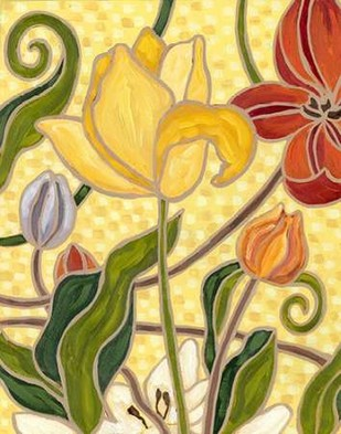Sunny Garden II Digital Print by Deans, Karen,Decorative