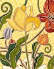 Sunny Garden II Digital Print by Deans, Karen,Decorative