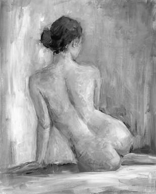 Figure in Black and White I Digital Print by Harper, Ethan,Impressionism