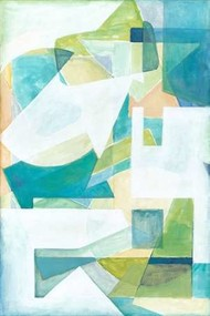 Overlay Abstract I Digital Print by Meagher, Megan,Cubism