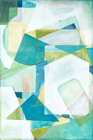 Overlay Abstract II Digital Print by Meagher, Megan,Cubism