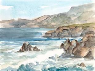 Coastal Watercolor II Digital Print by Harper, Ethan,Impressionism