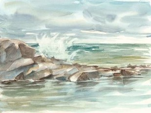 Coastal Watercolor IV Digital Print by Harper, Ethan,Impressionism