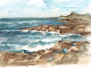Coastal Watercolor VI Digital Print by Harper, Ethan,Impressionism