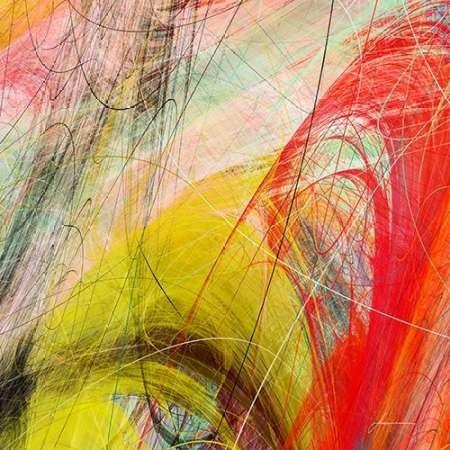 String Tile I Digital Print by Burghardt, James,Abstract