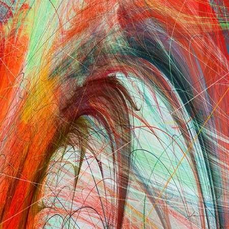 String Tile II Digital Print by Burghardt, James,Abstract