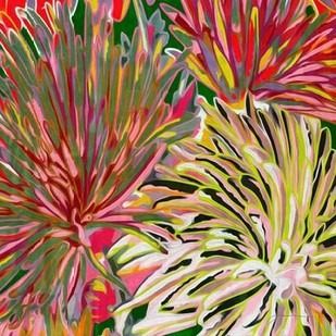 Spring Mix I Digital Print by Burghardt, James,Impressionism