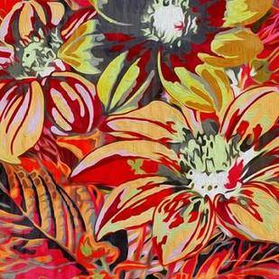 Spring Mix II Digital Print by Burghardt, James,Impressionism