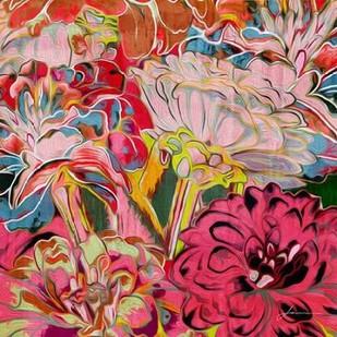Spring Mix IV Digital Print by Burghardt, James,Impressionism