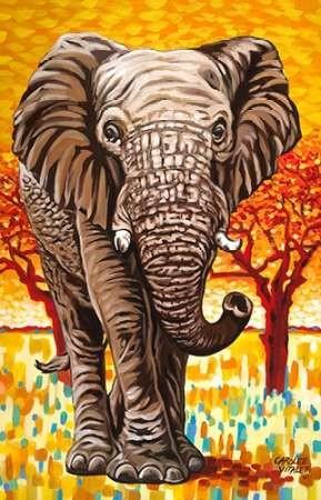 Wild Africa I Digital Print by Vitaletti, Carolee,Impressionism
