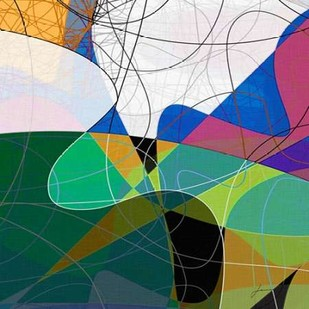 Entangled I Digital Print by Burghardt, James,Abstract