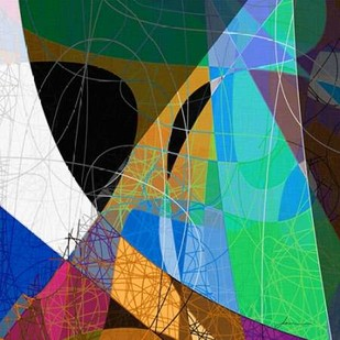 Entangled II Digital Print by Burghardt, James,Abstract