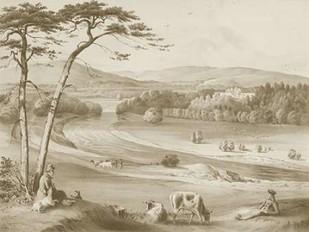Abbotsford Digital Print by Harding, J.D.,Decorative