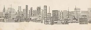 Neutral City Sounds Digital Print by Chandler, Sharon,Decorative